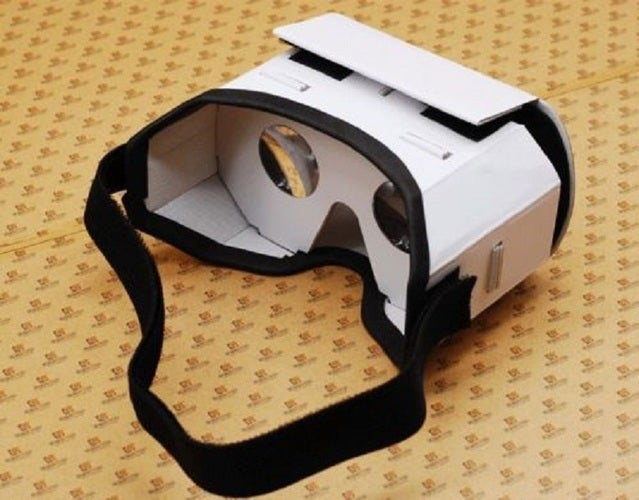 1x  GOOGLE DIY KIT VR BOX 2.0 Virtual Reality 3D Glasses Headset For Iphone & Android Smartphone