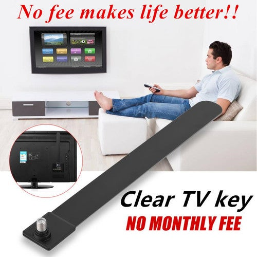 2018 Clear TV Key Antenna 100+Free Vivid HD Digital     | Tophatter