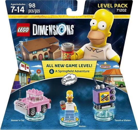 Lego Dimensions Level Pack 71202 - Homer