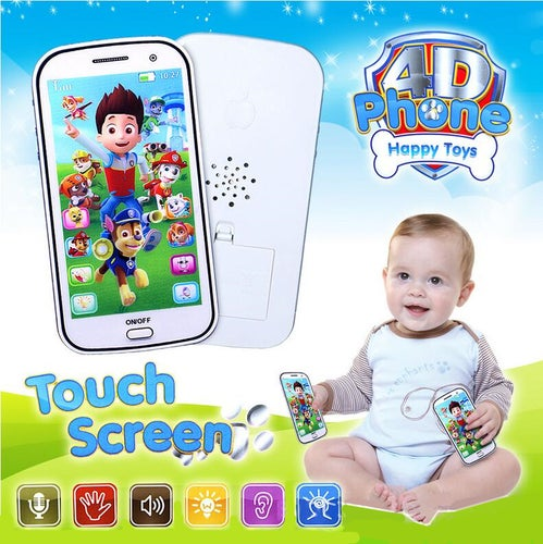 Nice Gift Smart touch screen with music light mobile phone ,English version