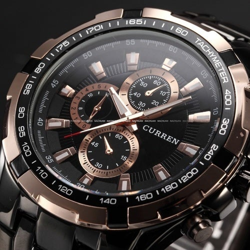 Top Luxury Brand Men Sports Watches Men's Quartz Hours Casual Clock