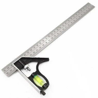 Multifuncion Combined Universal Mobile Angle Square Marking And Measuring Ruler