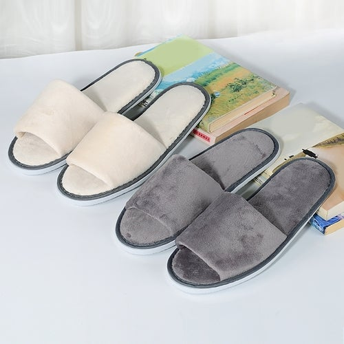 Smoothing home hospitality mute slippers custom