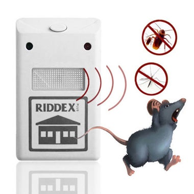 Electro Magnetic Ultrasonic Riddex Electronic Pest Control Rodent Repeller For M