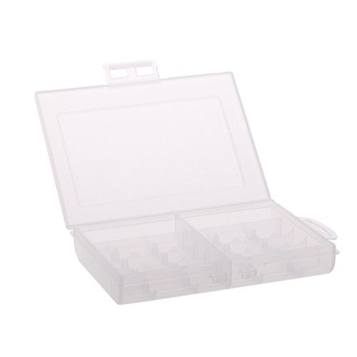 New Portable Plastic 10 Batteries Battery Holder Case Storage Box Cover for AA / AAA Standard / Rechargeable Batteries