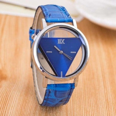 Stylish Cool Watches for Men Women Unisex Simple Triangle Luxury Watches