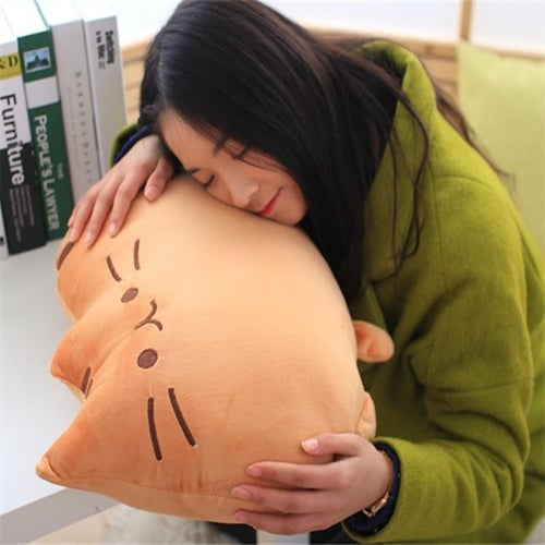 Cute Plush Toys Stuffed Animal Doll Kawaii Talking Animal Toy Pusheen Cat Car Home Sofa Decorations Cushions
