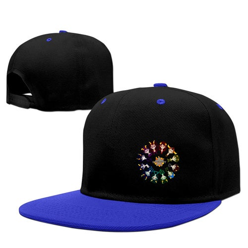 Homestuck Hivebent Betas Clock Starsign Adult Snapback Hip Hop Adjustable Print Baseball Caps Flat Hat