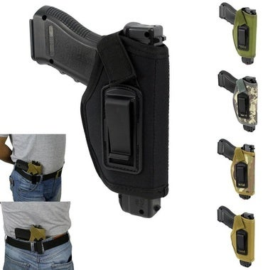 (just a holster)Concealed Belt Holster Ambidextrous IWB Holster for Compact Subc