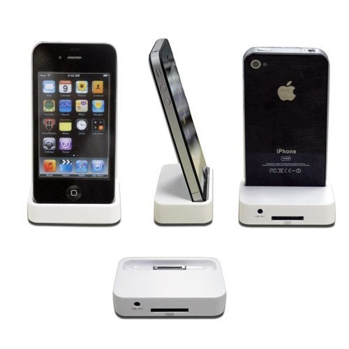 Apple OEM Apple iPhone 4/4S Dock Sync Station - PHONE NOT INCLUDED!