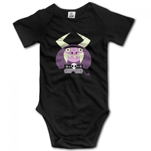 Eduardo Foster's Home for Imaginary Friends Newborn Babys Climbing Clothes Boy's & Girl's Short Sleeve Jumpsuit Outfits For 0-24 Months