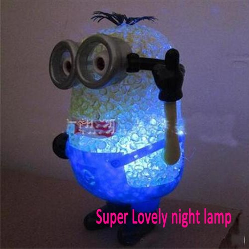 Cool  Minions toy Creative LED energy - saving lamps