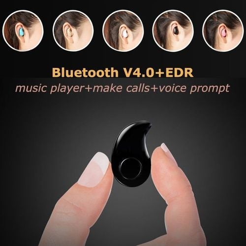 Mini Wireless Bluetooth 4.0 Stereo In-Ear Headset Earphone For Cell Phone iPhone Samsung