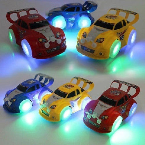Universal Luminous Music Racing Car Simulation Car - Puzzle Children's Toy