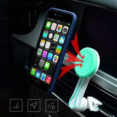 Magnetic Phone Holder for IPhone Sumsung Air Vent Mount magnetic car holder 360