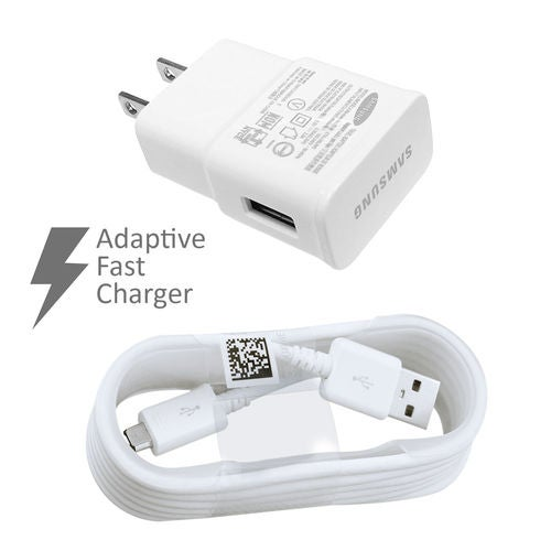 New Fast Charging Adaptive Charger US For Samsung Galaxy Note 4 5 Edge S6 S7 Edge