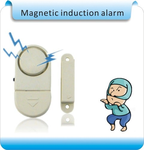 Magnetic induction Home Office Doors Windows Security Entry Burglar Contact Alarm System