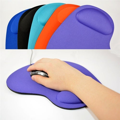 Silicone Soft Mouse Pad With Wrist Rest Support Mat for Gaming PC Laptop Mac