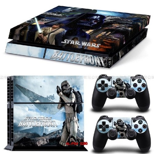 Hot Sony Playstation 4 Console&Controller Sticker Model 3