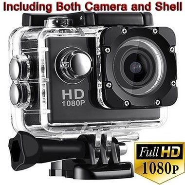 Hot! 1080P Sport Camera Diving 30 Meter Waterproof Camera Mini DVR Camcorder Hel
