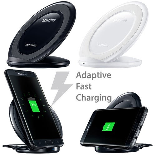Genuine 2A QI Wireless Fast Charging Stand Charger For Galaxy Note 5 S6 S6 Edge+ S7 Edge S8