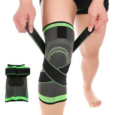 3D Weaving Knee Brace Support Breathable For Running Jogging Sports Sleeve Pad