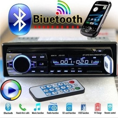 Hot! 2018 Brand New Bluetooth V2.0 Car Radio Stereo Audio MP3 Player 12V In-dash