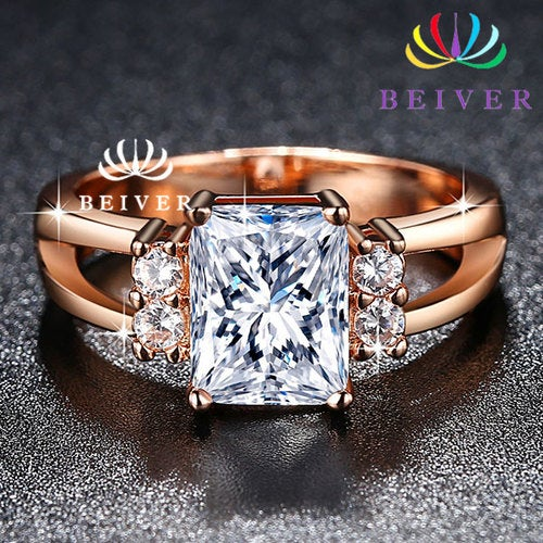 Exquisite Ring For Engagement Wedding Gift Party Tophatter