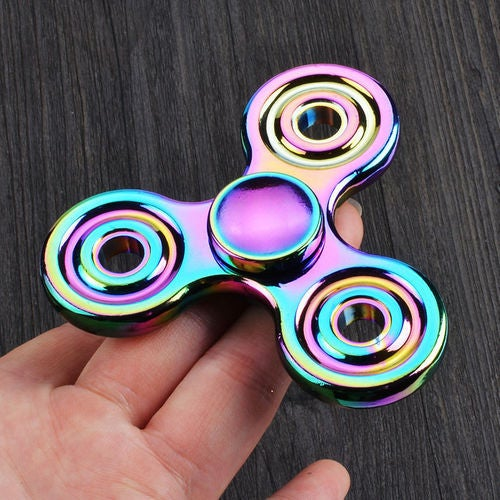 EDC Fidget Hand Spinner Torqbar Focus ADHD Autism Finger Toy Gyro NEW TOY