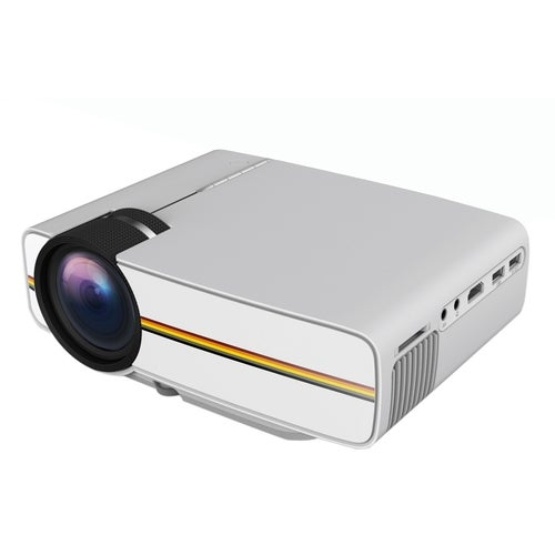 YG400 LCD Projector 1000Lm 800 x 480 Pixels 1080P Home Theater