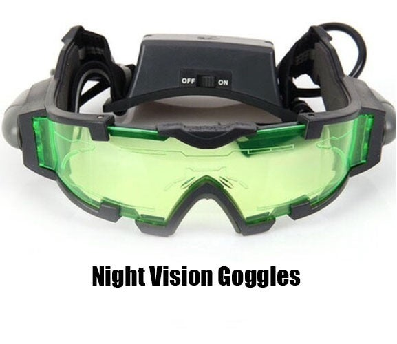 High Quality, Night Vision Goggles with flip out lights