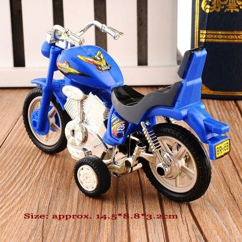 2018 Plastic Motorcycle Toy Model Hobby Toys Replace Kids Gift Boys & Girls Random (Size: 2)