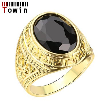 Classic 18k Gold Filled Men's ring