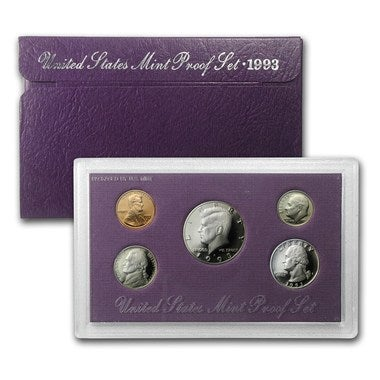 1993 US Mint Proof Coin Set