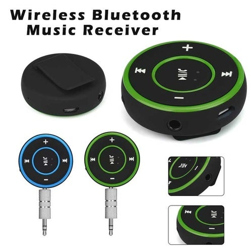 New Wireless Bluetooth 3.5mm Audio Stereo Adapter Car AUX Home Music Receiver