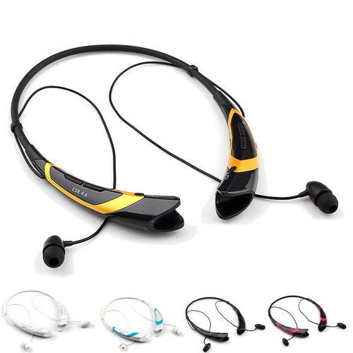 Bluetooth Stereo Earphone Wireless Headset Earphone in-Ear Earbuds for LG HBS760