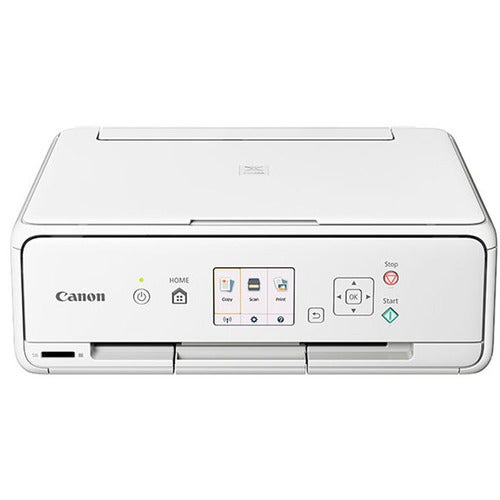 Canon TS5020 Wireless Color Photo Printer with Scanner & Copier (White) 1367C022