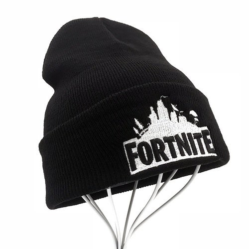 d5617d9bf40 2018 Sport Winter fortnite game hat Men cap Beanie K...