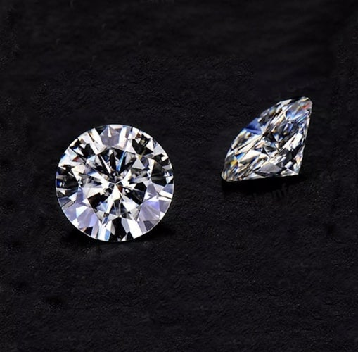 AAAAA QUALITY Loose Colorless 1 Carat BRILLIANT ROUND CZ Stone