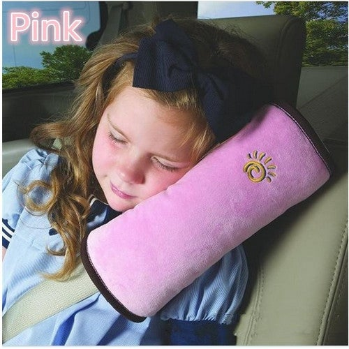 Autos Pillow Car Safety Belt Protect Shoulder Pad Vehicle Seat Belt Cushion For Kids Children