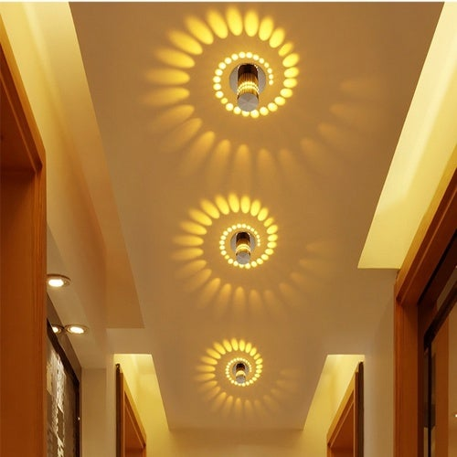 088d4c72156a Modern style LED Background Lamps Wall Lamp Indoor L... | Tophatter