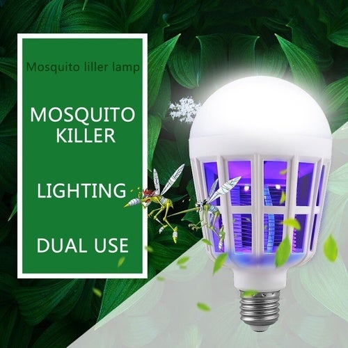 Home Electronic Insect LED Anti Mosquito Bulb Mosquito Killer Lamp