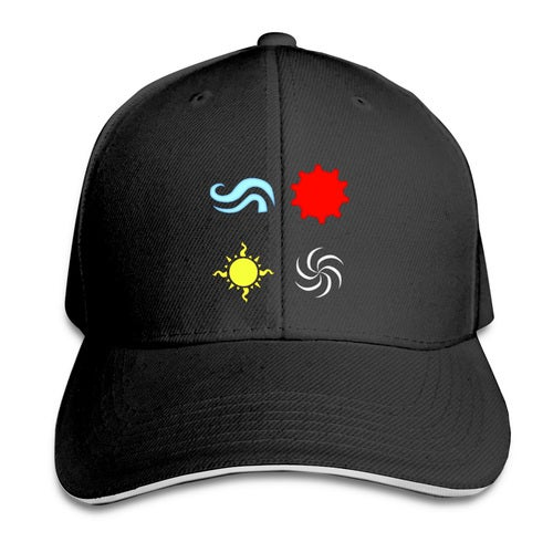 homestuck god tier symbols game Unisex Adult Snapback Print Baseball Caps Flat Adjustable Hat