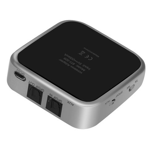 Bluetooth 4.1 Transmitter & Receiver 2 in 1 Wireless Stereo Audio Adapter with Optical Toslink / SPDIF & Aux 3.5mm Support aptx APT-X