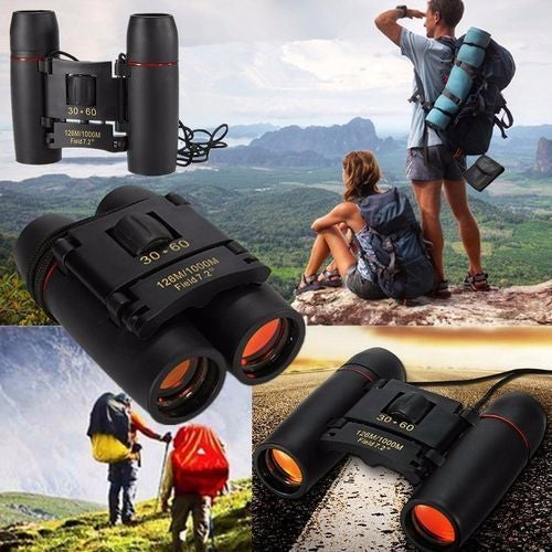 Great Gift for Christmas Sakura night vision 30x60 Zoom Optical military Binoculars Telescope (126m-1000m ) day and night high quality