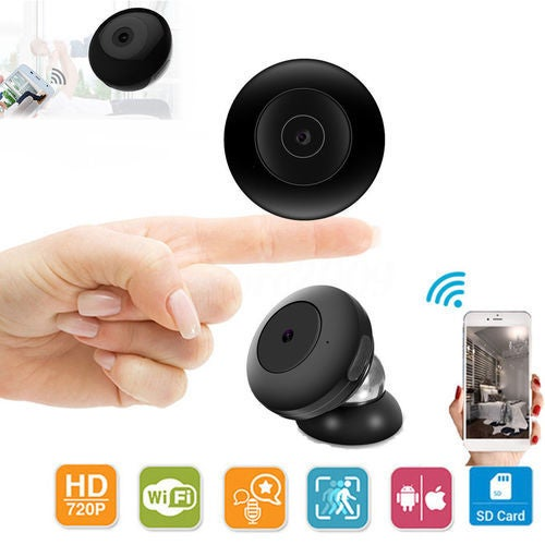 Mini Camera Hidden Baby Monitor Wireless Camera HD IP Home Security Cam With Night Vision