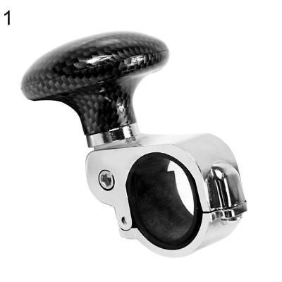 1pc Car Truck Steering Wheel Aid Power Handle Spinner Knob Ball Universal Black Controllers Electric Vehicle Parts