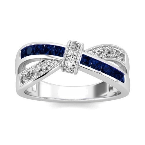 Swiss Crystal Royal Cross Ring/3 Colors Available