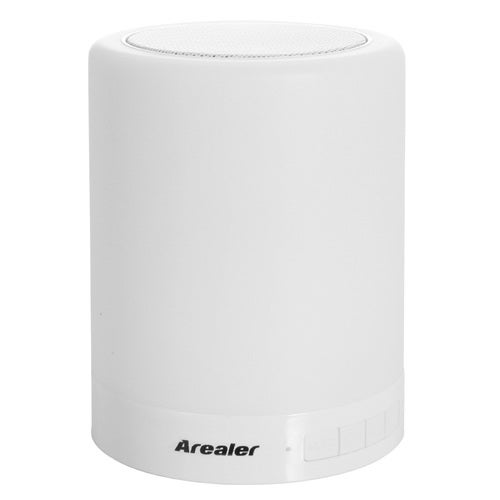 Arealer LV2016 Premium Wireless Stereo Bluetooth Speaker Box 7-Color LED Desk Bed Lamp Eyes Protection Hands-free TF Card for iPhone 6 6S 6 Plus 6S Plus Samsung S6 S6 S7 edge Note 5 Tablet PC HTC Smartphone iPad mini Air Tablet Anti-skid Durable