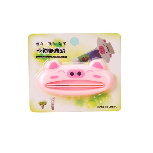2pc Cute Animal multifunction squeezer / toothpaste squeezer Home Commodity Bathroom Tube Cartoon